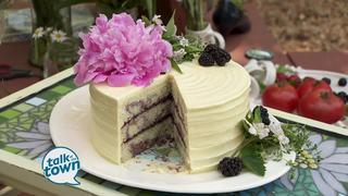 Blackberry Julep Cake