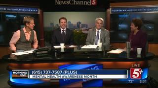 MorningLine: Mental Health Awareness Month