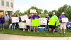 Protest Held For Tennessee School For The Deaf