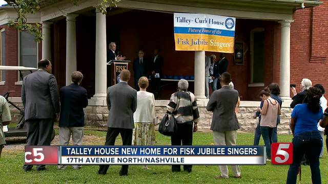 Talley House New Home For Fisk Jubilee Singers