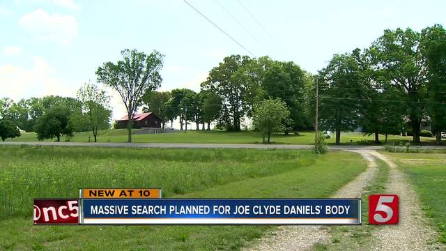 Hundreds Expected To Search For Joe Clyde Daniels
