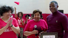 Cancer Survivors Honored At Healthy Family Day