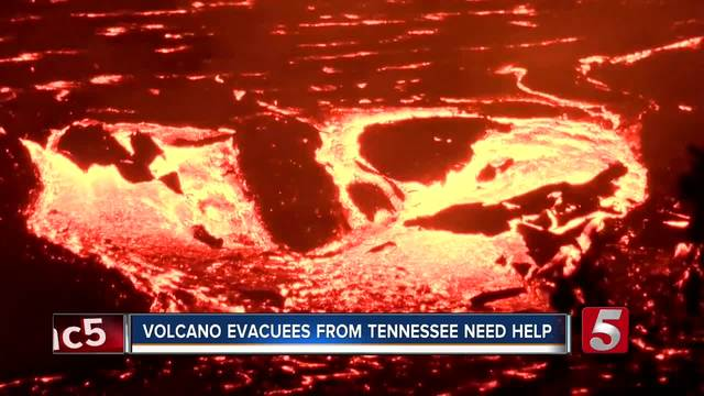 Volcano Evacuee From Tennessee Needs Help