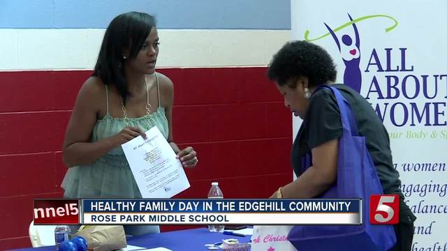 Healthy Family Day Held In Edgehill Community
