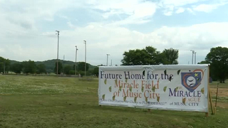 Miracle League To Build Baseball Field