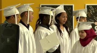 School For Immigrant & Refugee Students Graduate