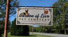 Clarksville Pet Cemetery Vandalized