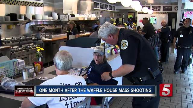 Victims Remembered One Month After Waffle House Mass Shooting