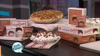 Creamy Goo Goo Peanut Butter Pie