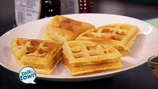 Mignon Francois' Cornbread Waffles