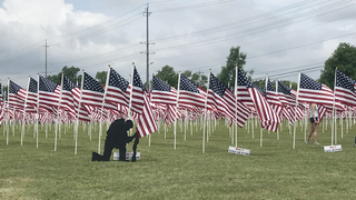 'Healing Field Flags Of Remembrance' Honors Vets