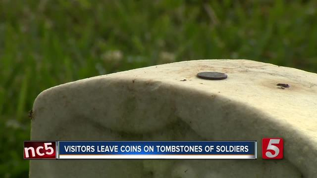 Learn What Coins Left On Soldiers- Tombstones Mean