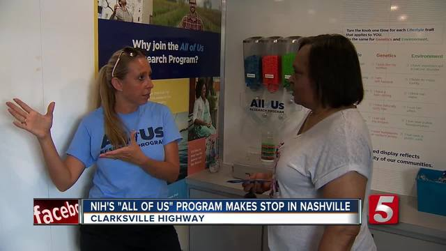 -All Of Us- Bus Helping Advance Medical Research