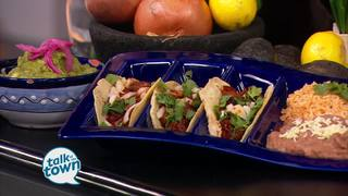 Carne Asada Tacos from Las Brisas Restaurant