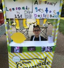 Lemonade Stand Helps Fallen Deputy's Family