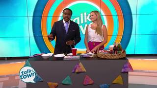 DIY Watercolor Banners and Party Decorations