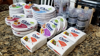 Couple Gets Free Paper Plates From Manufacturer