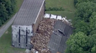 Portion Of Kentucky Bourbon Warehouse Collapses