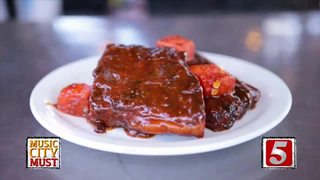 Watermelon Ribs at Loveless Cafe