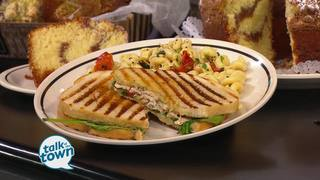 Corner Bakery Cafe's Chicken Pomodori Panini