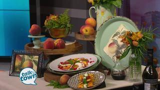 Chef's Market Peach Caprese Salad Recipe