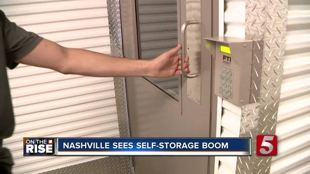 Nashville Tops List For Self-Storage Facility Growth - On the Rise