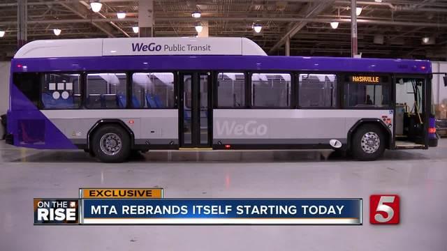 MTA Rebrands Itself WeGo Public Transit- On The Rise