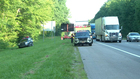 1 In Custody After I-24 Crash In Pleasant View