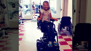 Girl Hit By Vehicle After Wheelchair Stolen