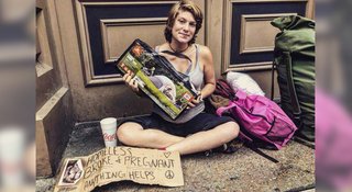 Pregnant Homeless Women Struggle In The Heat