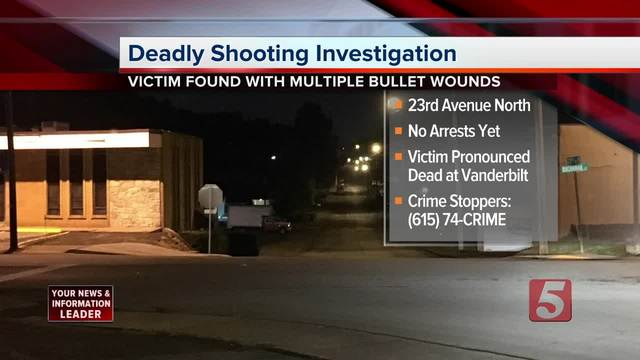 Man Killed In North Nashville Shooting