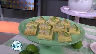 Katie Jacobs' Key Lime Coconut Bars