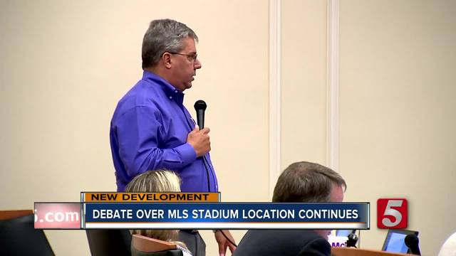 Council Continues Debate Over MLS Stadium