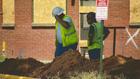 Demolition On James Cayce Homes Underway