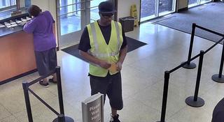 Police Search For Nashville Bank Robber