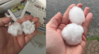 Severe Storms Bring Hail to Mid-State