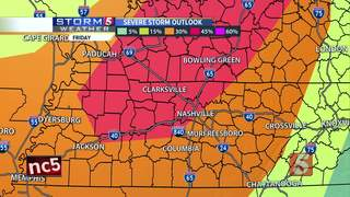Storm 5 Alert Issued For Friday