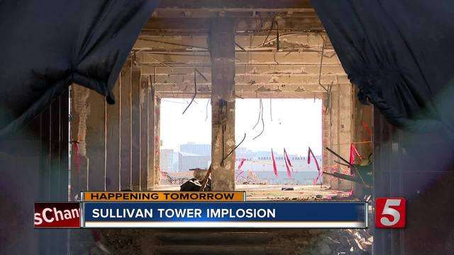 Building Implosion Planned In Downtown Nashville