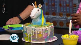 The CakeSmartist's 3-D Unicorn Birthday Cake