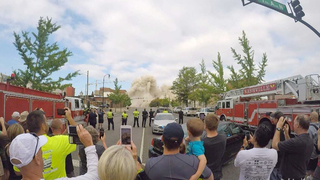 Sullivan Tower Imploded In Downtown Nashville