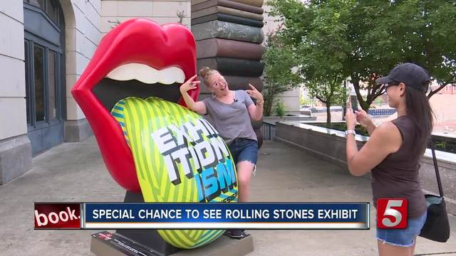 Take Pictures With The Rolling Stones -Tongue -amp- Lips- Statues- Get…