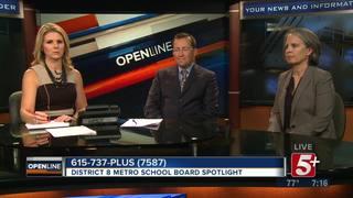 District 8 Metro School Board Race