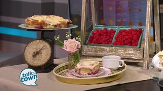 Raspberry Cheesecake Rolls