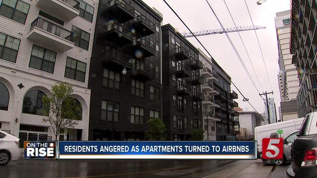 Residents Outraged As Apartments Become AirBnb-s - On The Rise