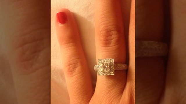 Wife Of Fallen Firefighter Finds Missing Wedding Ring