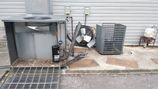 Thieves Steal Copper From Restaurant's AC Units