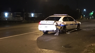 DUI Suspect Rear-Ends Metro Officer's Vehicle