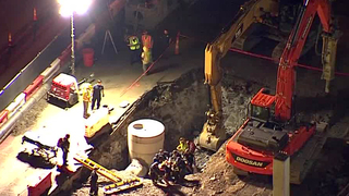 Nashville Worker Rescued After Falling Into Hole