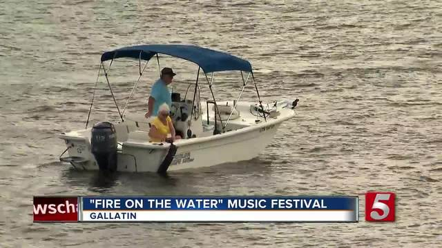 1st ever -Fire On The Water- Festival Held