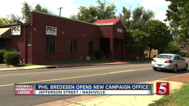 Bredesen Opens New Nashville Campaign Office